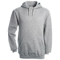 Majica dugi rukavi B&C Hooded 280g svijetlo siva XL!!