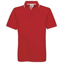 Majica kratki rukavi B&C Safran Sport 180g crvena/bijela M!!
