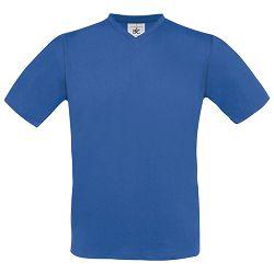 Majica kratki rukavi B&C Exact V-Neck 150g zagrebačko plava 2XL!!