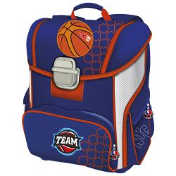 Torba školska anatomska Basketball Connect plavo-narančasta!!