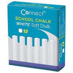 Kreda školska četvrtasta soft pk12 Connect bijela!!