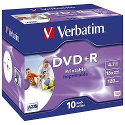 DVD+R 4,7/120 16x JC printable Verbatim 43508