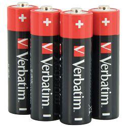 Baterija alkalna 1,5V AA pk4 Verbatim 49921 LR6 blister