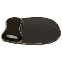 Podloga za miša ergonomska-gel Fellowes 9112101 tamno siva blister