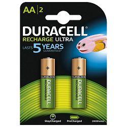 Baterija za punjenje 1,2V AA pk2 Duracell HR6 blister