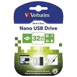 Memorija USB 32GB 2.0 StorenStay Nano Verbatim 98130 blister!!