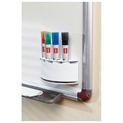 Držač markera za bijelu ploču magnetni Nobo 8018500 bijeli