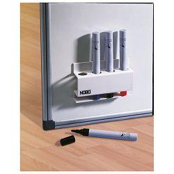 Držač markera za bijelu ploču magnetni četvrtasti Nobo 35038046 bijeli