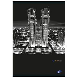 Teka meki uvez A4 čista 40+2L Cities by night Elisa sortirani motivi
