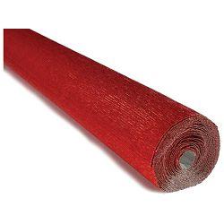 Papir krep 180g 50x250cm Cartotecnica Rossi 803 metalik crveni