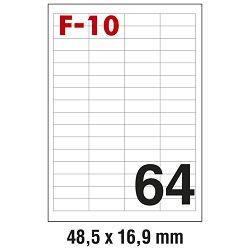 Etikete ILK  48,5x16,9mm pk100L Fornax F-10