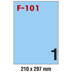 Etikete ILK 210x297mm pk100L Fornax F-101 plave