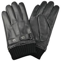 Rukavice kožne muške Galko 71-0070-R01 crne XL