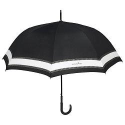 Kišobran automatik s gumiranom ručkom Maison Perletti 16226 crni/sortirano!!