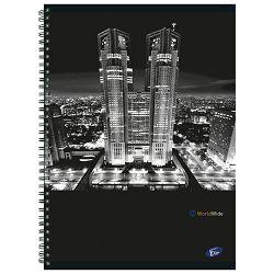 Blok kolegij A4 crte  70L Cities By Night Elisa