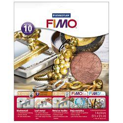 Listići za mase za modeliranje metalni 10 listova Fimo Staedtler 8781-26 bakreni blister!!
