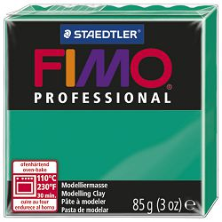 Masa za modeliranje   85g Fimo Professional Staedtler 8004-500 žarko zelena
