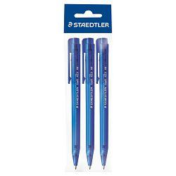Olovka kemijska ball 423M pk3 Staedtler 423 35 M-3 plava blister