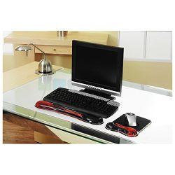 Podloga za miša duo gel Kensington 62402 crveno/crna