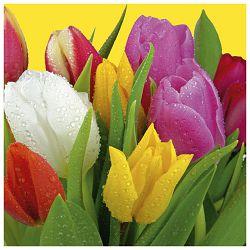 Salvete troslojne 33x33cm pk20 Bouquet of tulips Herlitz 11341419!!