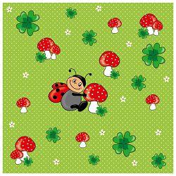 Salvete troslojne 33x33cm pk20 Ladybug Herlitz 11309077!!