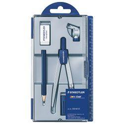Šestar školski 550 60+gumica+grafitna olovka Staedtler 550 60 S1 blister