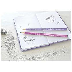 Olovka grafitna B Sparkle pearl Faber Castell 118204 lila