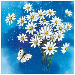 Salvete troslojne 33x33cm pk20 Flower romance Herlitz 11095437!!