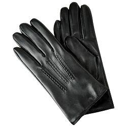 Rukavice kožne ženske Galko 71-0079-R01 crne M