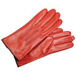 Rukavice kožne ženske Galko 71-0080-R03 crvene L