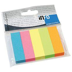 Zastavica 15x50mm 5bojax100L papir Global Notes 5679-39-pk5 sortirano blister