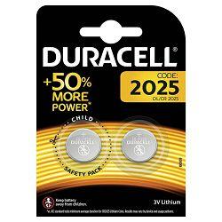 Baterija litij dugmasta 3V pk2 Duracell 2025 blister