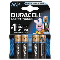 Baterija alkalna 1,5V AA Ultra 3+1 Duracell LR6 blister