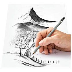 Ugljen u olovci+pribor za sjenčanje Design Journey Staedtler 100C SBK4 blister