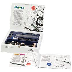 Set crtaći Manga Starter Kit Faber Castell 167152