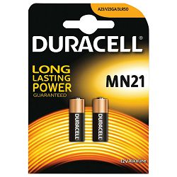 Baterija alkalna 12V Duracell MN21 pk2 blister