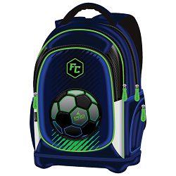 Ruksak školski anatomski lagan Pro Football Connect plavo-fluo zeleni!!