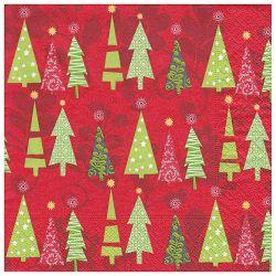 Salvete troslojne 33x33cm pk20 Simple Tree Herlitz 40043678!!