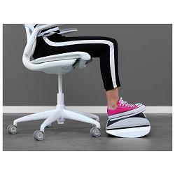 Stalak za odmaranje nogu Ergo Wow Leitz 65030095 crni/bijeli