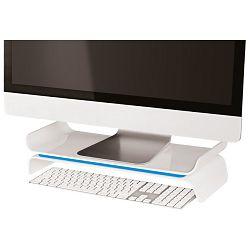Stalak za monitor Stand Ergo Wow Leitz 65040036 plavi/bijeli