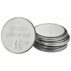 Baterija litij dugmasta 3V pk4 CR2025 Verbatim 49532 blister