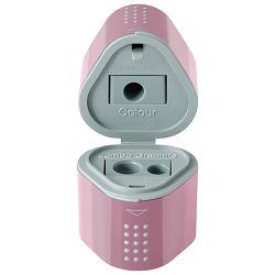 Šiljilo pvc s pvc kutijom 3rupe Grip 2001 Trio Faber Castell - Write 183804 rozo