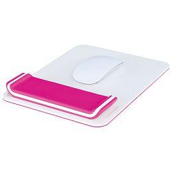 Podloga za miša ergonomska podesiva Wow Leitz 65170023 -NL roza/bijela