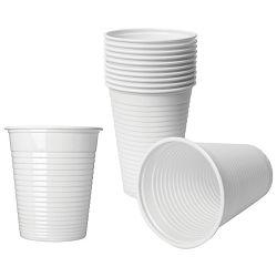 Čaše 0,2L pvc baždarene pk100 Dopla 02363 bijele