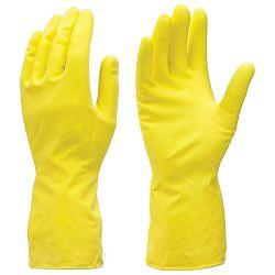 Pribor za čišćenje-rukavice za domaćinstvo Fixi žute blister S