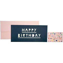 Čestitka 11x23cm Happy birthday Stewo 5932 42 blister
