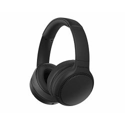 PANASONIC slušalice RB-M300BE-K crne, naglavne, BT, Deep Bas