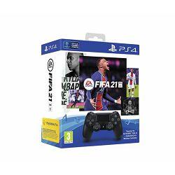 PS4 Dualshock Controller v2 Black + FIFA 21 VCH + FUT VCH + PS+14dana