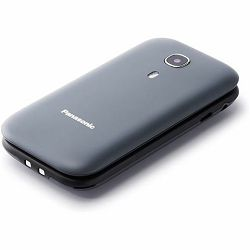 MOB Panasonic KX-TU400EXG sivi, preklopni, SOS tipka, GSM