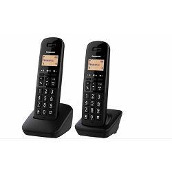 PANASONIC telefon bežični KX-TGB612FXB crni, TWIN